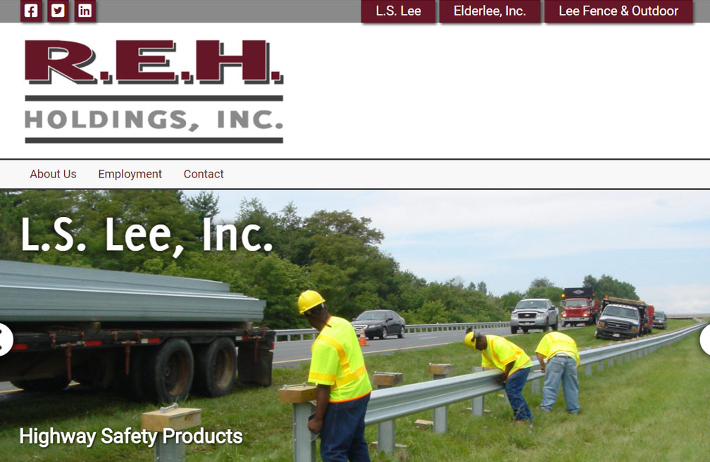 REH Holdings Network of Websites and Development